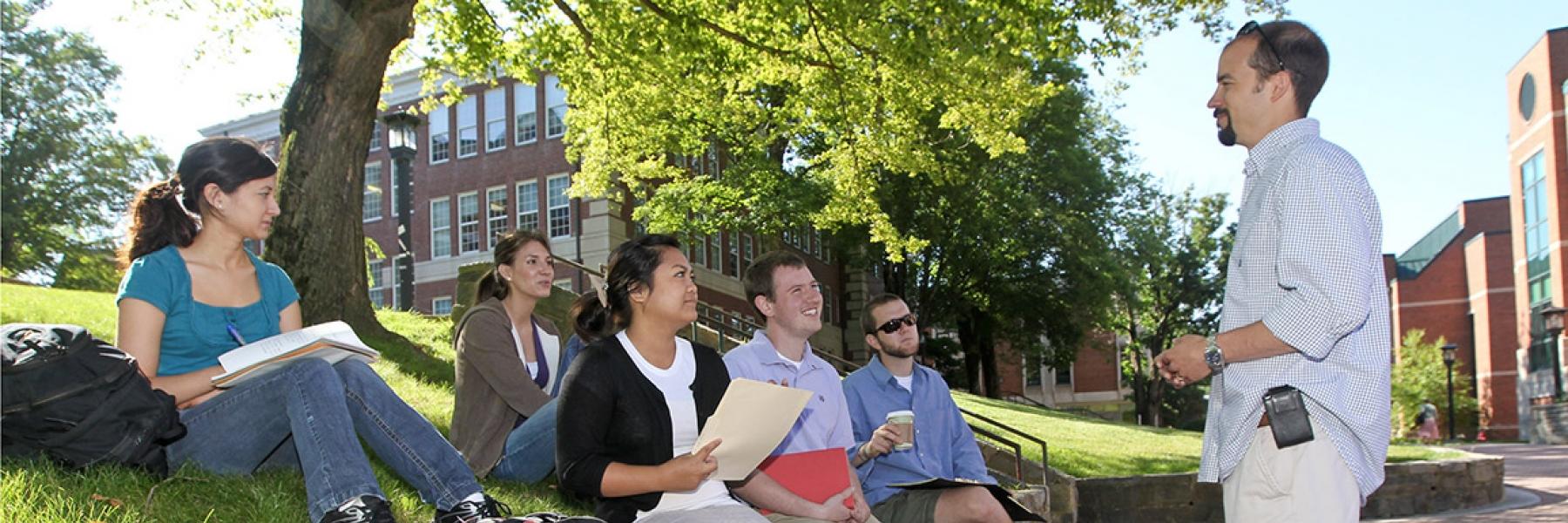 Outdoor classroom at ASU